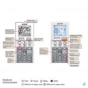MITSUBISHI climatisation Mono Split gaz R32 mural compact MSZ-AP VGK WiFi 5kW MSZ-AP50VGK + MUZ-AP50VG A++