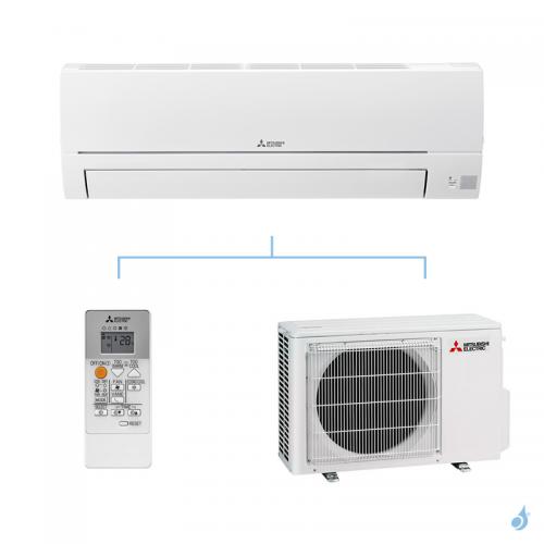MITSUBISHI climatisation mono split gaz R32 mural essentiel MSZ-HR 2,5kW MSZ-HR25VF + MUZ-HR25VF A++