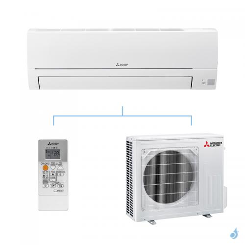 MITSUBISHI climatisation mono split gaz R32 mural essentiel MSZ-HR 5kW MSZ-HR50VF + MUZ-HR50VF A++