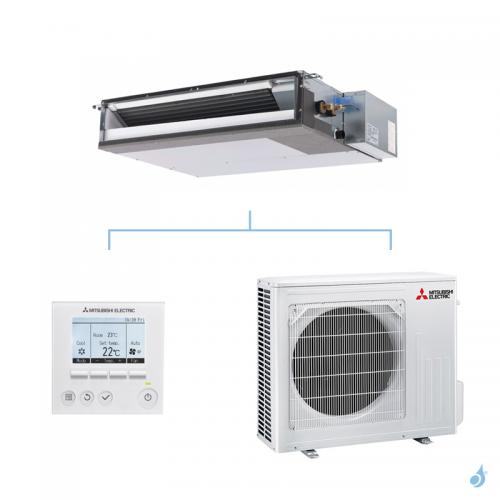 MITSUBISHI climatisation mono split gaz R32 gainable extra plat SEZ-M 3,5kW SEZ-M35DAL + SUZ-M35VA A+