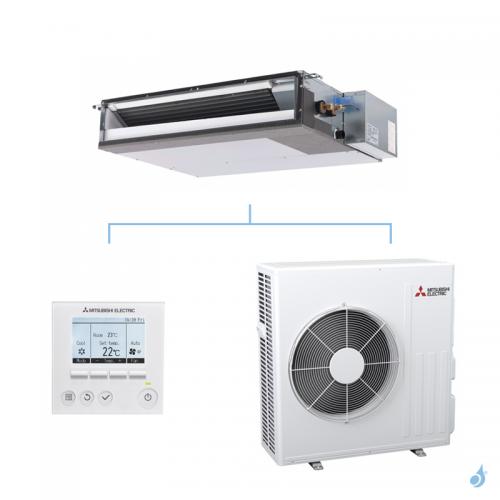MITSUBISHI climatisation mono split gaz R32 gainable extra plat SEZ-M 5kW SEZ-M50DAL + SUZ-M50VA A+