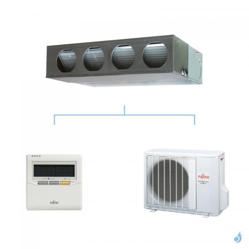 FUJITSU climatisation mono split gaz R410A gainable confort 6,8kW ARYG24LMLA + AOYG24LBCB A++