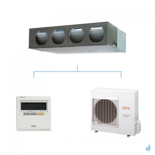 FUJITSU climatisation mono split gaz R410A gainable confort 9,4kW ARYG36LMLE + AOYG36LETL A+
