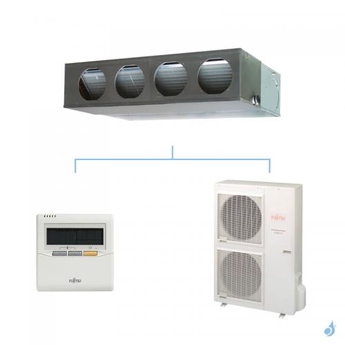 FUJITSU climatisation mono split triphasé gaz R410A gainable confort 10kW ARYG36LMLA + AOYG36LATT A+