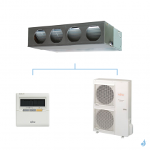 FUJITSU climatisation mono split triphasé gaz R410A gainable confort 12,5kW ARYG45LMLA + AOYG45LATT A+