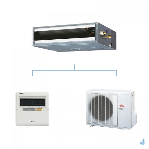 FUJITSU climatisation mono split gaz R410A gainable compact 3,5kW ARYG12LLTB + AOYG12LALL A+