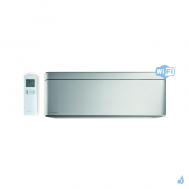 Climatiseur Daikin stylish silver FTXA35BS 3.4kW pour application Multi Split