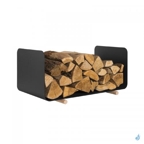 Range buches HENI stockage bois 68 x 35 cm Ht 35 cm