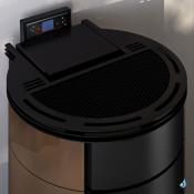 Poêle à granulés étanche Freepoint Globe Puissance 10.5kW A+