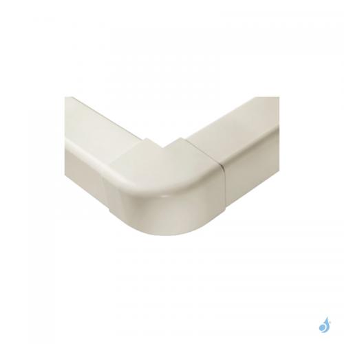 Angle externe à 90° pour goulotte Artiplastic Ivoire