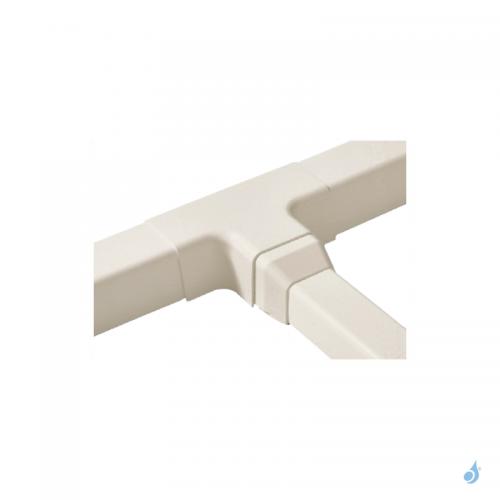 Déviation en Déviation en T pour goulotte Artiplastic IvoireT pour goulotte