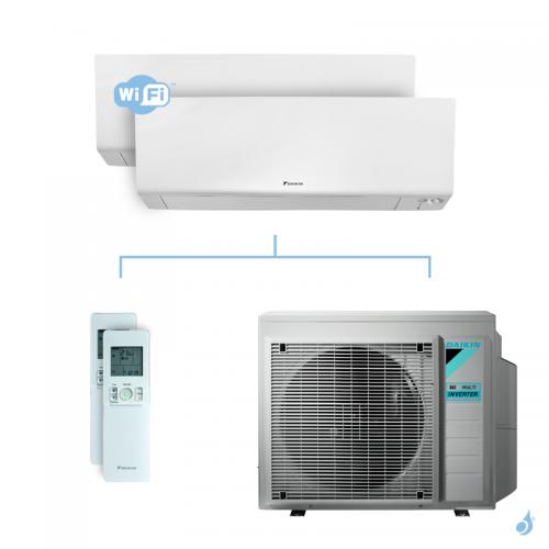 Climatisation bi-split DAIKIN Perfera FTXM-R 6.8kW taille 1.5 + 2 - CTXM15R + FTXM20R + 2MXM68N