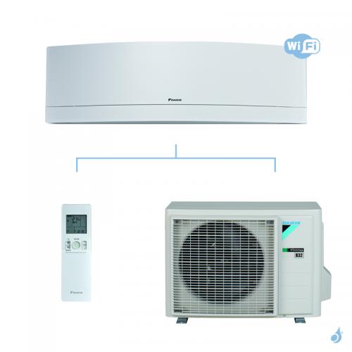 Climatisation mono split DAIKIN Emura Blanc FTXJ-MW 3.5kW taille 3.5 - FTXJ35MW + RXJ35M
