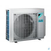 Climatisation bi-split DAIKIN Emura blanc FTXJ-MW 7.4kW taille 3.5 + 5 - FTXJ35MW + FTXJ50MW + 4MXM80N