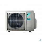 Climatisation bi-split DAIKIN Emura argent FTXJ-MS 5kW taille 2.5 + 2.5 - FTXJ25MS + FTXJ25MS + 2MXM50N